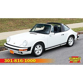 1988 Porsche 911 Targa for sale 101073447
